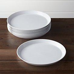 Set of 8 Verge Dinner Plates