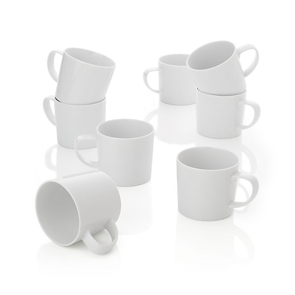 Set of 8 Verge Mugs