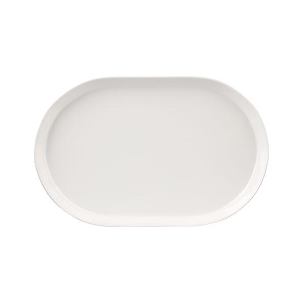 """Verge 15.25"""" Oval Serving Platter"""