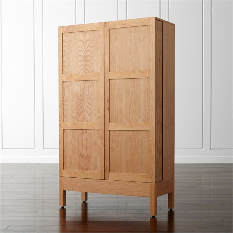 Victuals Cherry Bar Cabinet Crate And Barrel