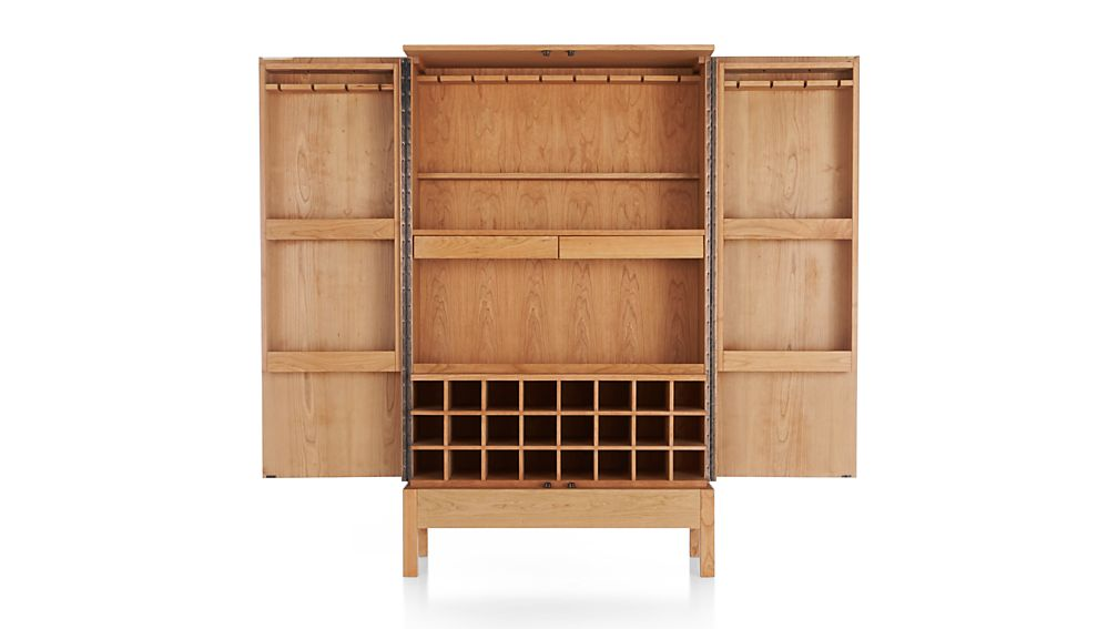 Crate And Barrel Victuals Bar Cabinet   28 Images   Steamer Bar .