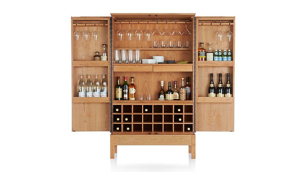 Victuals Cherry Bar Cabinet