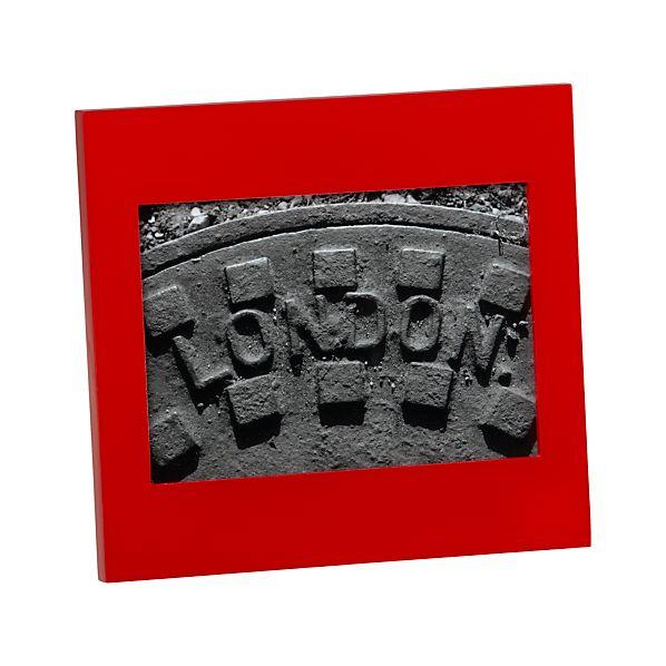 Vida Red 5x7 Frame
