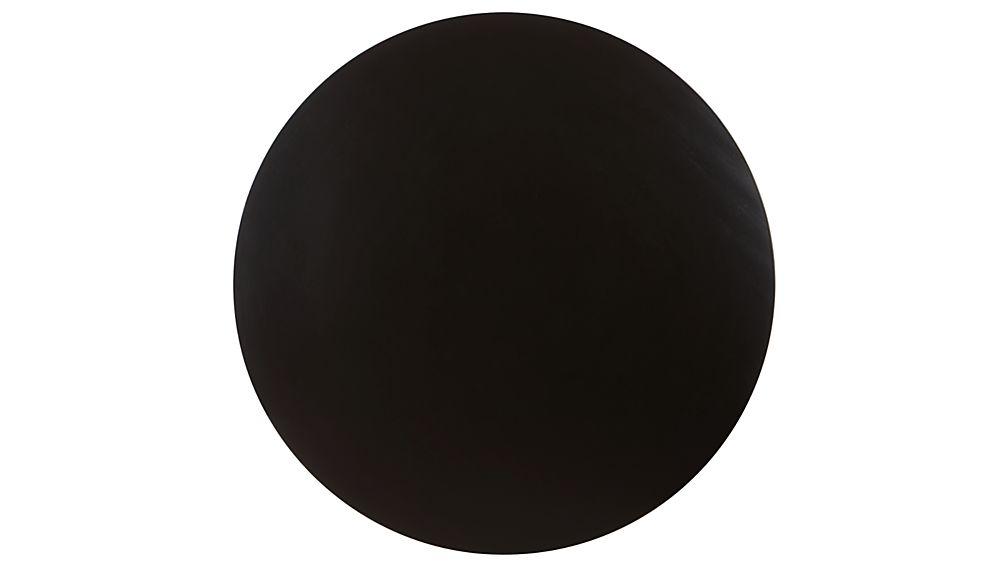 Vienna Black Round Bistro Table