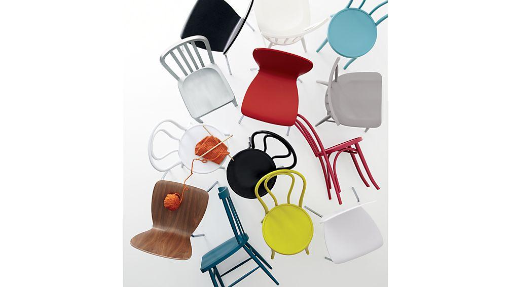 Vienna Black Wood Dining Chair