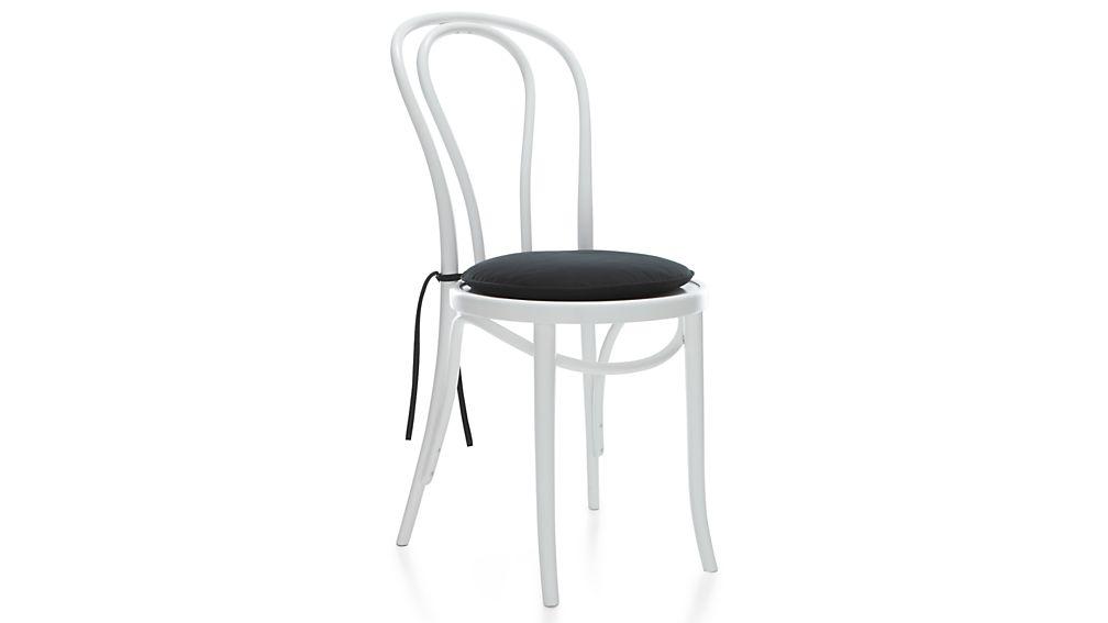 Vienna Black Chair Cushion