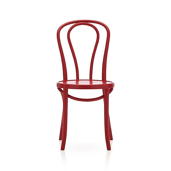 Vienna Red Side Chair