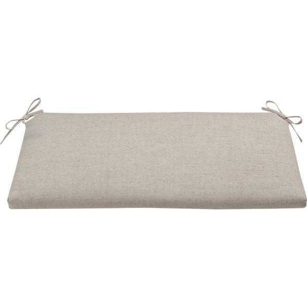 Village Natural Bench Cushion
