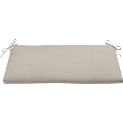Village Natural Bench Cushion