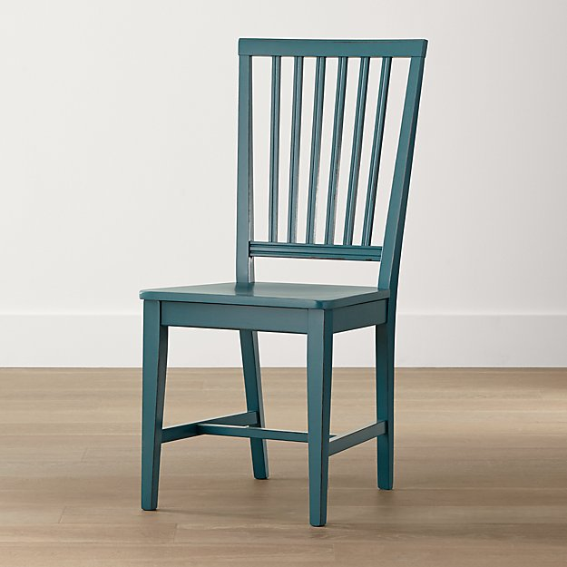 Crate And Barrel Dining Chairs: Village Faella Wood Dining Chair