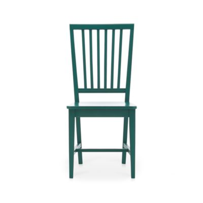 Village Teal Side Chair