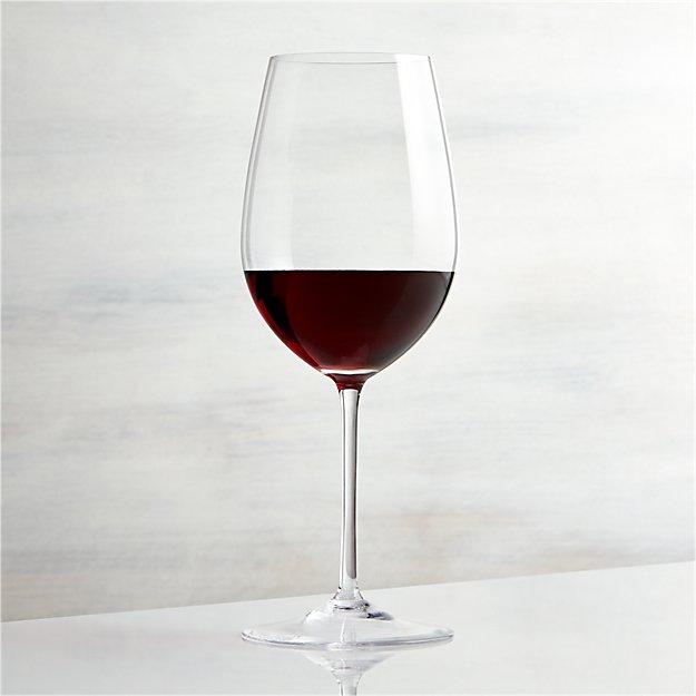 vineyard 22 oz bordeaux wine glass crate and barrel. Black Bedroom Furniture Sets. Home Design Ideas