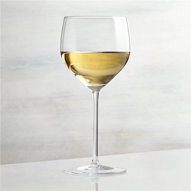 vineyard 15 oz chardonnay wine glass crate and barrel. Black Bedroom Furniture Sets. Home Design Ideas