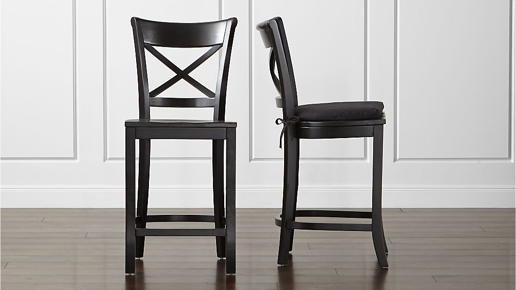 Vintner Black Bar Stool and Cushion Crate and Barrel : vintner black bar stool and cushion from www.crateandbarrel.com size 1008 x 567 jpeg 50kB