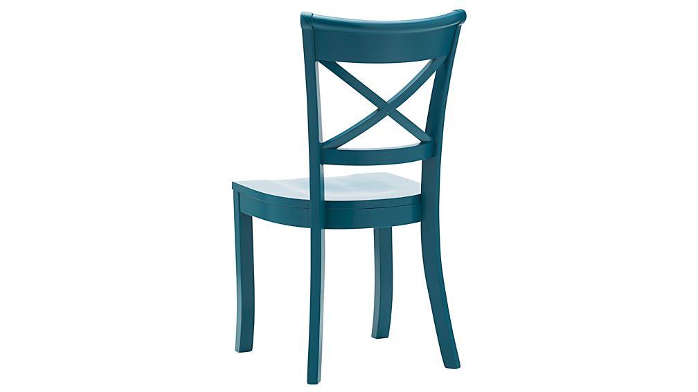 Vintner Peacock Wood Dining Chair