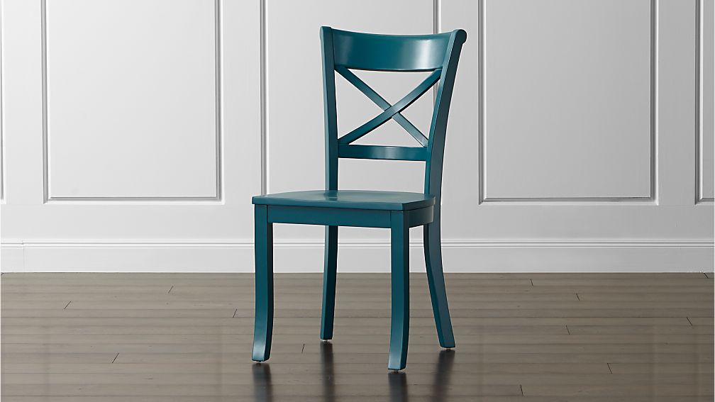 Vintner Peacock Wood Dining Chair