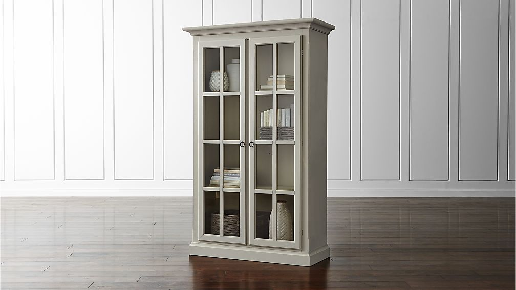 vitrine cabinet crate and barrel. Black Bedroom Furniture Sets. Home Design Ideas