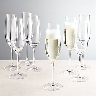 Set of 8 Viv Champagne Glasses