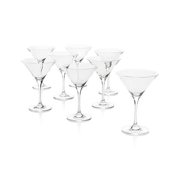 Set of 8 Viv Martini Glasses