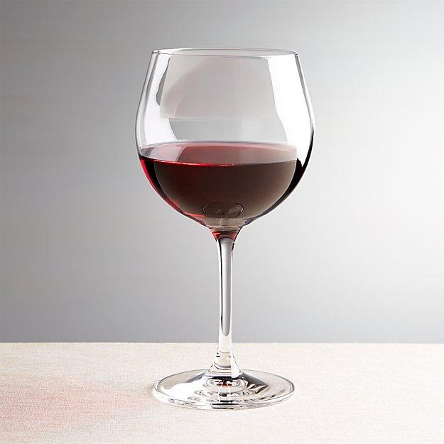 viv 20 oz red wine glass crate and barrel. Black Bedroom Furniture Sets. Home Design Ideas