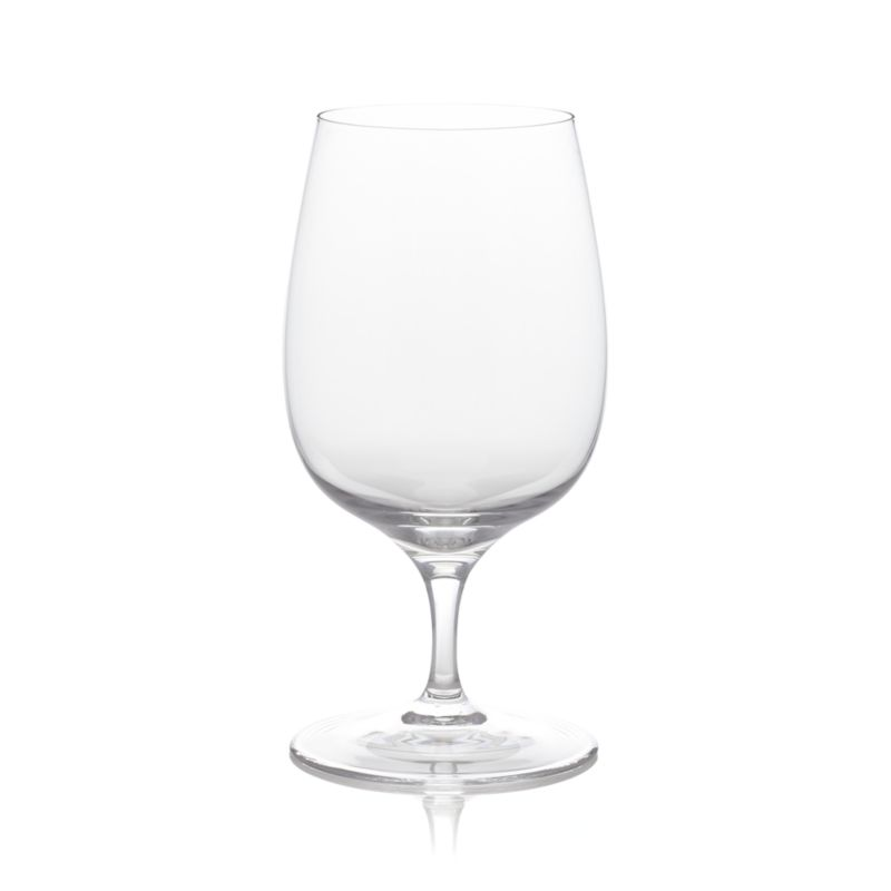Everyday stemware, beautifully crafted from top to bottom. Generous bowl is finished with smooth fire-polished rim and pulled stem. Exquisite clarity at an exceptional price. Short-stemmed sipper multitasks as wine sampler, water glass or cocktail server.<br /><br /><NEWTAG/><ul><li>Casual everyday glass at an exceptional value</li><li>Pulled stem</li><li>Hand washing recommended</li><li>Made in Slovakia</li></ul>