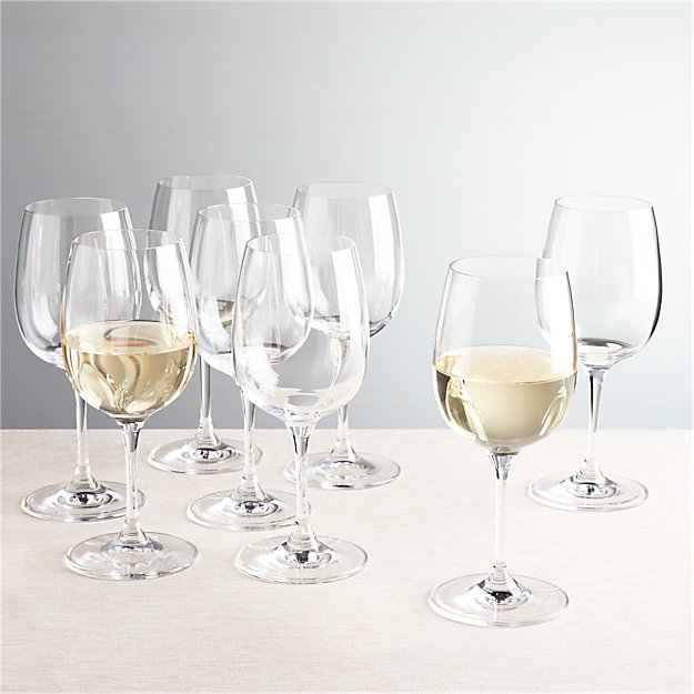 Set of 8 Viv White Wine Glasses