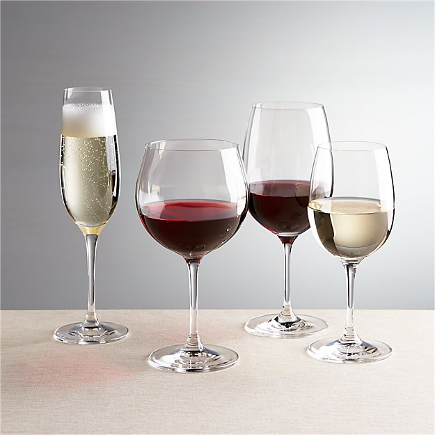 Viv wine glasses crate and barrel for Large red wine glass