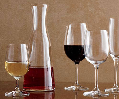 Wine Glasses and Carafe