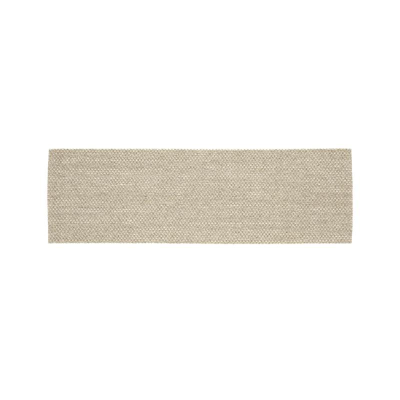 Voight Wool-Blend 2.5'x8' Rug Runner
