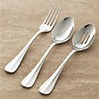 Voletta 3-Piece Serving Set: serving fork, pierced serving spoon and serving spoon.