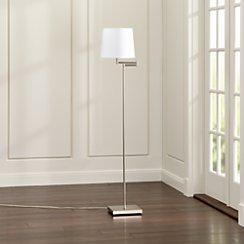 Adams Nickel Floor Lamp