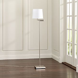 Adams Nickel Floor Lamp