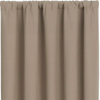 Wallace Brindle 52x108 Curtain Panel