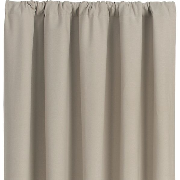 Wallace Flax 52x108 Curtain Panel
