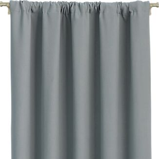 Wallace Grey Curtains