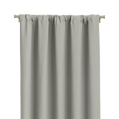 "Wallace Grey 52""x84"" Curtain Panel"