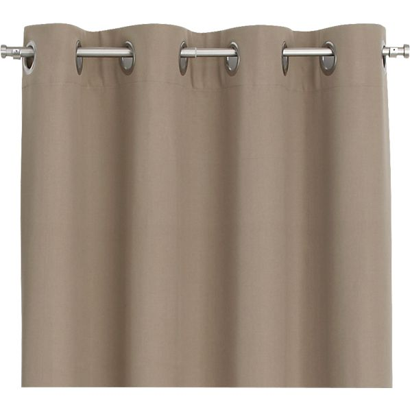 Wallace Brindle 52x84 Grommet Curtain Panel