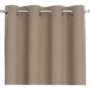 Wallace Brindle 52x108 Grommet Curtain Panel