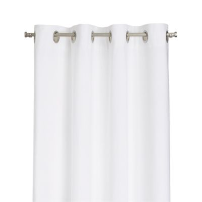 Wallace White 52x108 Grommet Curtain Panel