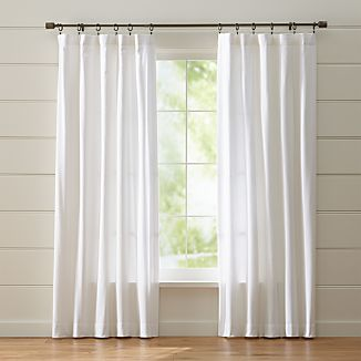 Wallace White Curtains