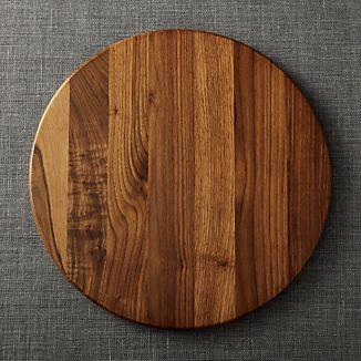 Walnut Lazy Susan 18""
