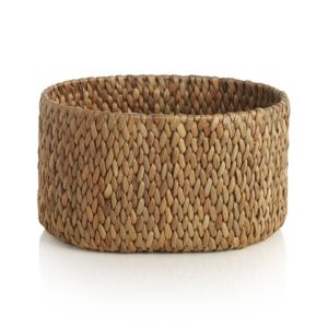 Water Hyacinth Large Oval Basket