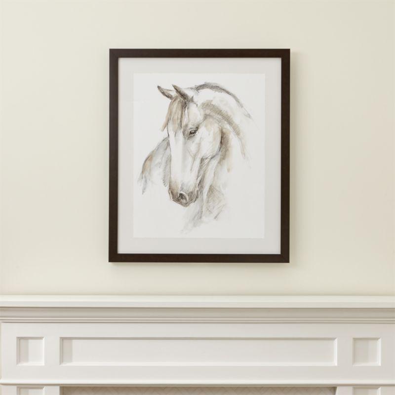 Watercolor Equine Print