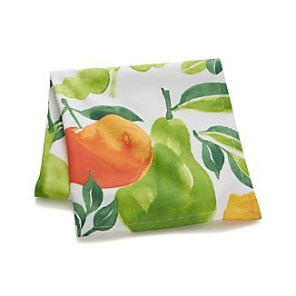 Watercolor Fruit Dish Towel