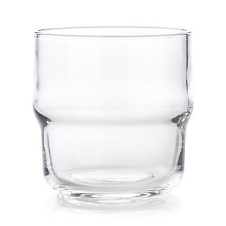 Wave Stacking Double Old-Fashioned Glass