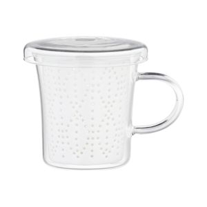 Weave Mug with Porcelain Infuser