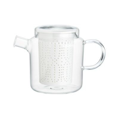 Weave Teapot with Porcelain Infuser