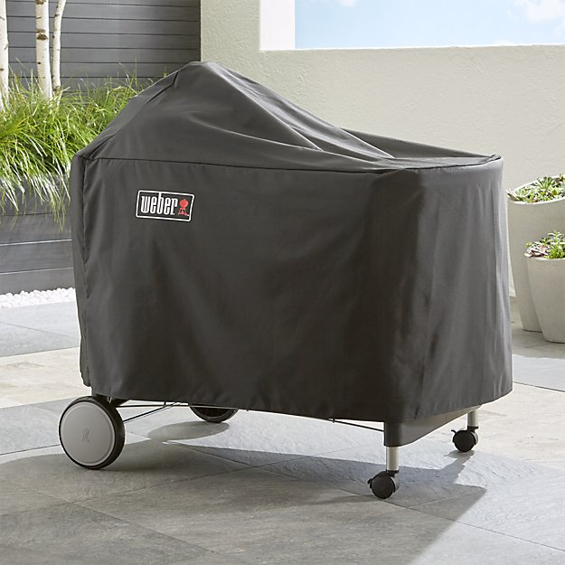 Weber performer premium deluxe grill cover crate and barrel Weber exterior grill cleaner