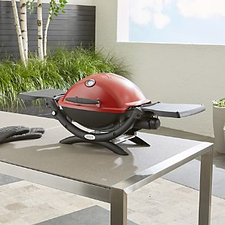 Weber ® Q ® 1200 ™ Red Liquid Propane Gas Grill