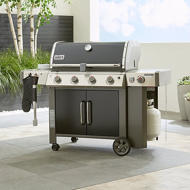 Weber Genesis Ii Lx E 440 Lp Black Gas Grill Crate And